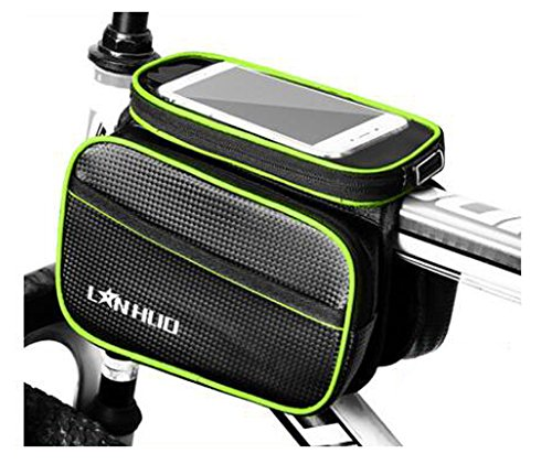 Bike Bag Bunte Fahrrad Lenker Pakete für 6 Zoll Telefon Multi-Funktions-Fahrrad-Zubehör#24