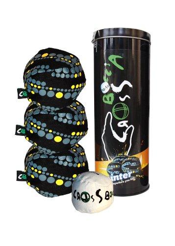 Boccia CROSSBOCCIA®-Set Design, 3 Spielbälle + 1 Zielball, pointer