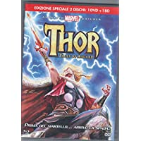 Thor-tales of Asgard (rental) 1 Dvd+1 Blu-ray