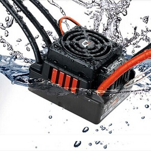 Junsi WP-8BL150 Brushless 150A ESC Waterproof Wasserdicht for 1/8 RC Car Buggy Big Foot Truck