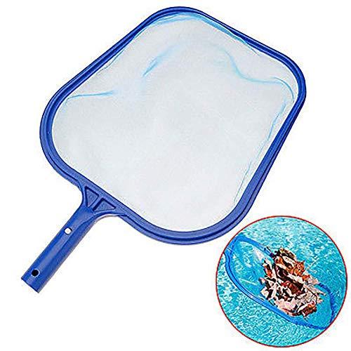 Skimmer Rake (Fliyeong Premium Qualität Hand Teich Blatt Mesh Skimmer Rake Net Pool Spa Blätter Reinigungswerkzeug)