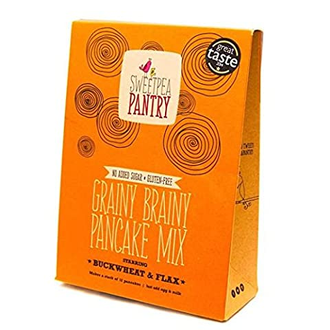 Sweetpea Pantry Pancake Mix with Buckwheat, Flax & Quinoa 365g