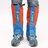 Baban 1 Paar wasserdichte Gamaschen Oxford Tuch für Wandern Klettern