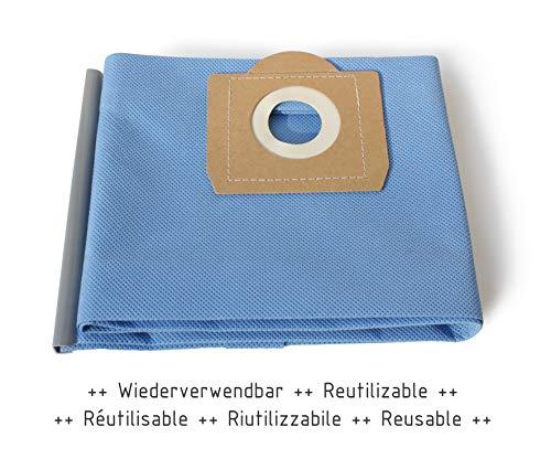 MI:KA:FI Filterbeutel wiederverwendbar | für Kärcher Mehrzwecksauger + Nass-/ Trockensauger + Waschsauger | WD3 + WD3.200 + WD3.300 M + WD3.500 P + WD5.800 + SE4001 + SE4002 | wie 6.959-130.0