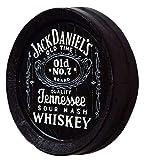 Flame Whiskey Barrel Top Jack Daniels Old No. 7Pub Wandschild Zum Aufhängen