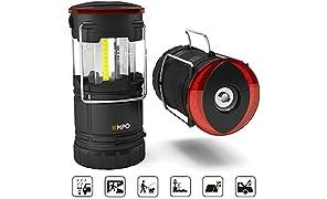 EMPO LED Lanterne Portable Camping Extérieur Lanterne Magnétique Lampe Torche