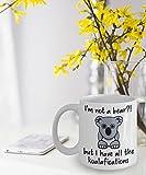Koala Mug Koala Gifts Funny Koala Coffee Mug Non Sono Un Orso ma Ho Tutte Le Koalafications