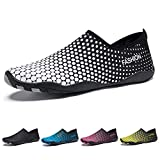 Madaleno Water Shoes Quick Dry Barefoot Sports Aqua Shoes for Beach Swimming Diving Surfing Jogging Exercise Men Women