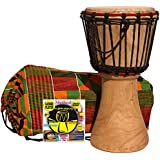Djembe infantil 40 cm x 20 cm : Djembe nino + Bolsa + DVD metodo Djembe player (Español). Alta calidad djembe africano, tradicional tambor djembe hecho. Cuerda Pre-estirada = no se desafine. Piel de cabra seleccionado. Djembe 40cm DJ0001
