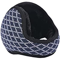 Unisex Faltbare Ohrenschützer Warm Knit Ear Warmers Fleece Winter EarMuffs, Navy preisvergleich bei billige-tabletten.eu