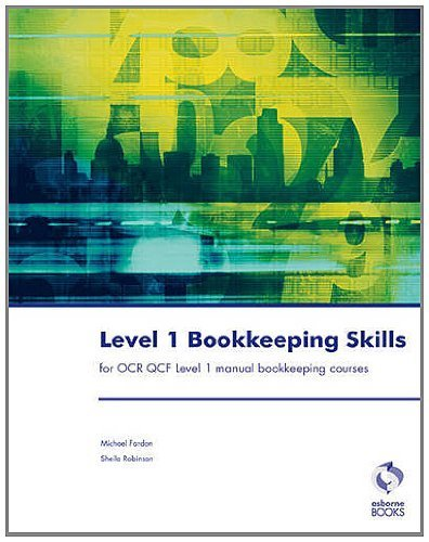 Level 1 Bookkeeping Skills: For OCR QCF (Accounting & Finance) by Fardon, Michael, Robinson, Sheila I. (2011) Paperback