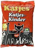 Katjes Katjes-Kinder – Lakritz Kätzchen aus Hartlakritz – Der Klassiker unter den Süßigkeiten in der Großpackung (12 x 500 g)