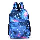 Isuper School Backpack Mochila Escolar,Galaxia Mochilas de Estudiantes Mochila Informal,Mochila Grande Mochila portátil,Mochila de Viaje para Chicos Niños y Fanáticos