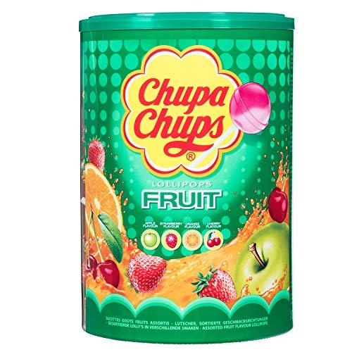 Chupa Chups Frutta Lecca-Lecca Lollipop, Dolciumi, Caramelle, 100 Pezzi, 1200g