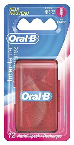 Oral B Interdental Nachfüllbürstchen,ultra fein, 12er Packung