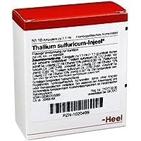 THALLIUM SULFURICUM INJEEL Ampullen 10 St preisvergleich bei billige-tabletten.eu