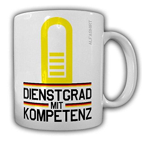 Tasse Kapitän zur See Marine Dienstgrad Bundeswehr KptzS Militär Rangabzeichen Abzeichen Schulterklappe Kaffee Becher - Kapitän Zur See Kostüm