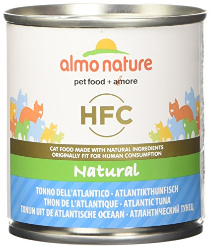 almo nature HFC Natural Tonno dell'Atlantico Umido Gatto 100% Naturale - Pacco da 12 X 280 g
