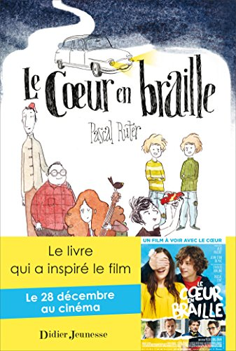 Le cur en braille - couverture avec l'affiche du film
