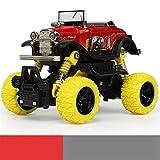 Happy Event Kinder Inertial Offroad Fahrzeug Auto Modell Ziehen Spielzeugauto Jungen Geschenk zurück (E)