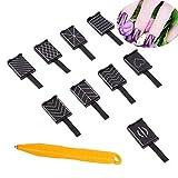 10 PCS/Set 9 stile occhi di gatto 3d Magnet stick per smalto gel per unghie magico strumento