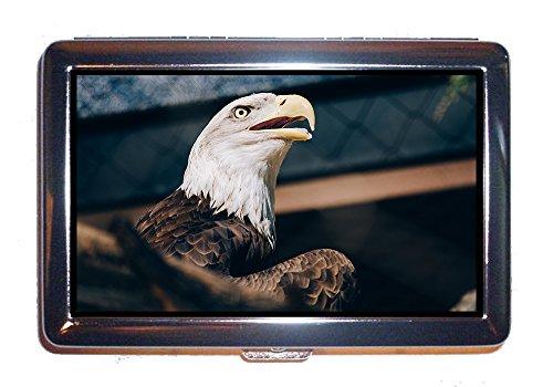 Astuccio per sigarette Eagle Bird Animal Beak Raptor Bald Eagle (Scatola per sigarette)