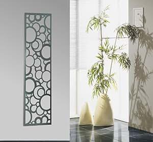 wandgarderobe garderobe design circle 140x40cm edelstahl mattiert marke szagato made in. Black Bedroom Furniture Sets. Home Design Ideas