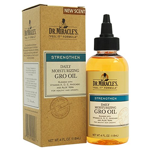 Dr. Miracle's Feel It Formula, Strengthen Daily Moisturising Gro Oil, 120ml