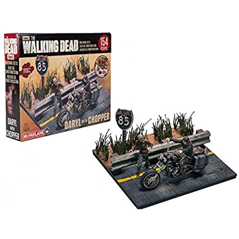 Walking Dead TV Series Toy - Construction Set - Daryl