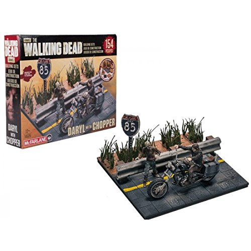 Walking Dead Tv Building Set Daryl Dixon