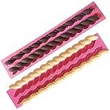 OFKPO Stampo in Silicone a Forma di Corda 2pcs/set