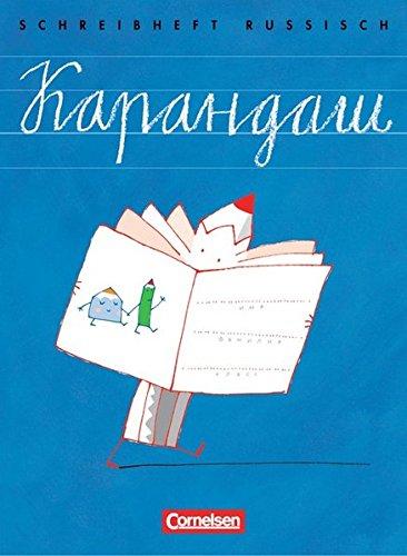 Karandasch: Schreibheft für den Russischunterricht