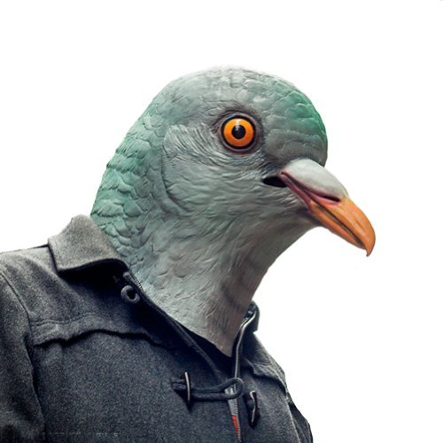 Accoutrements Pigeon Mask by (Taube Kostüm)