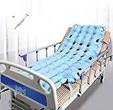 WuLien Antidekubitus Matratze, Wechseldruckmatratze mit Pumpe, für Bettlägerig Ältere oder Patienten Sphärische aufblasbaren Bett Pad, Passt Standard Krankenhausbett -