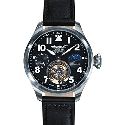 Ingersoll Wilson Men's Automatic Watch black/silver IN5304BK