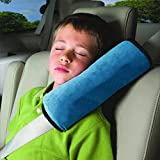 House Of Quirk Baby Car Seat Cushion Comfortable Kids Car Sleep Pillow (Blue)
