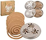 Citronella Mosquito Coils - pack of 10 with Stand (Garden & Outdoors)