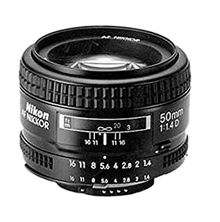 Nikon AF Nikkor 50mm 1:1,4D Objektiv (52 mm Filtergewinde) (B00005LENO) | Amazon price tracker / tracking, Amazon price history charts, Amazon price watches, Amazon price drop alerts