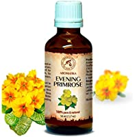 Nachtkerzenöl 50ml - Oenothera Biennis Oil - Kaltgepresst & Raffiniert - 100% Rein & Natürlich Nachtkerzen Öl... preisvergleich bei billige-tabletten.eu