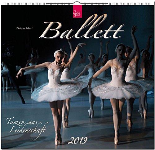 Ballett 2019: Mittelformat-Kalender