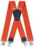 Ranger Herrenhosenträger X Form robust Dx50 2 (orange 1)