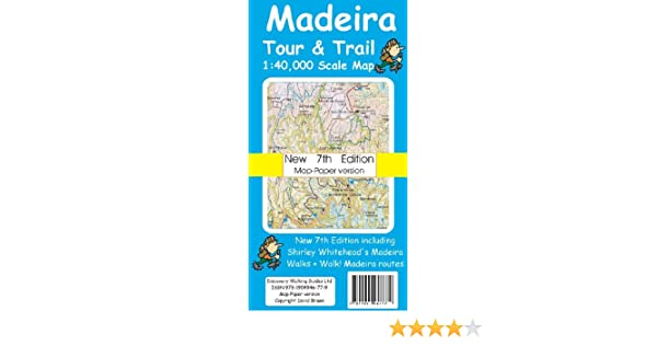 madeira tour amp trail map