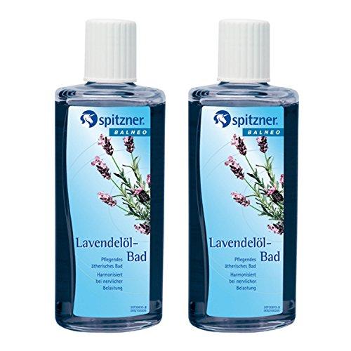 "Aditivo de baño ""Aceite de lavanda"" oferta ventajosa (2 x 190 ml) de Spitzner"