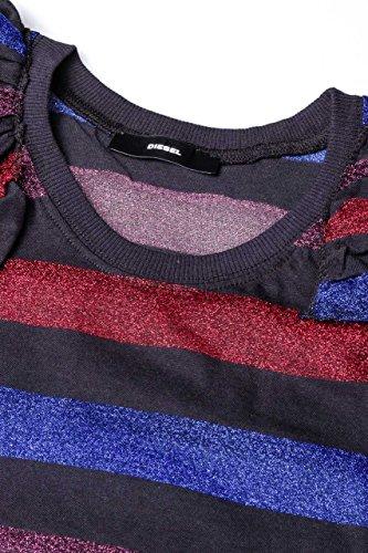 Diesel Damen Shirt Top T-Sol Top Schwarz