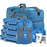Lightweight Family Travel Set Packing Cube (Blue)