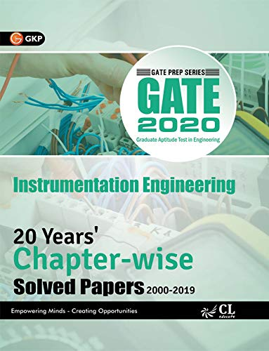 GATE 2020 - 20 Years' Chapter-wise Solved Papers (2000-2019) - Instrumentation Engineering