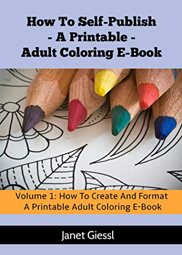 How To Create And Format A Printable Adult Coloring E-Book ...