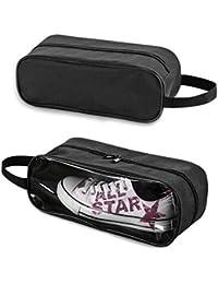 Glive's 2pcs Portable Waterproof Multi-purpose Travel Shoes Storage Bag
