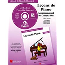 Piano Lessons Book 2 - CD - French Edition: Hal Leonard Student Piano Library