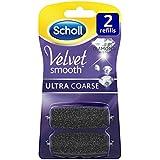 SCHOLL Velvet Smooth para ruedas Ultra Fuerte con partículas de diamante, 1er Pack (1x 2unidades)